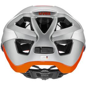 UVEX Quatro Integrale Helm silver/orange matt
